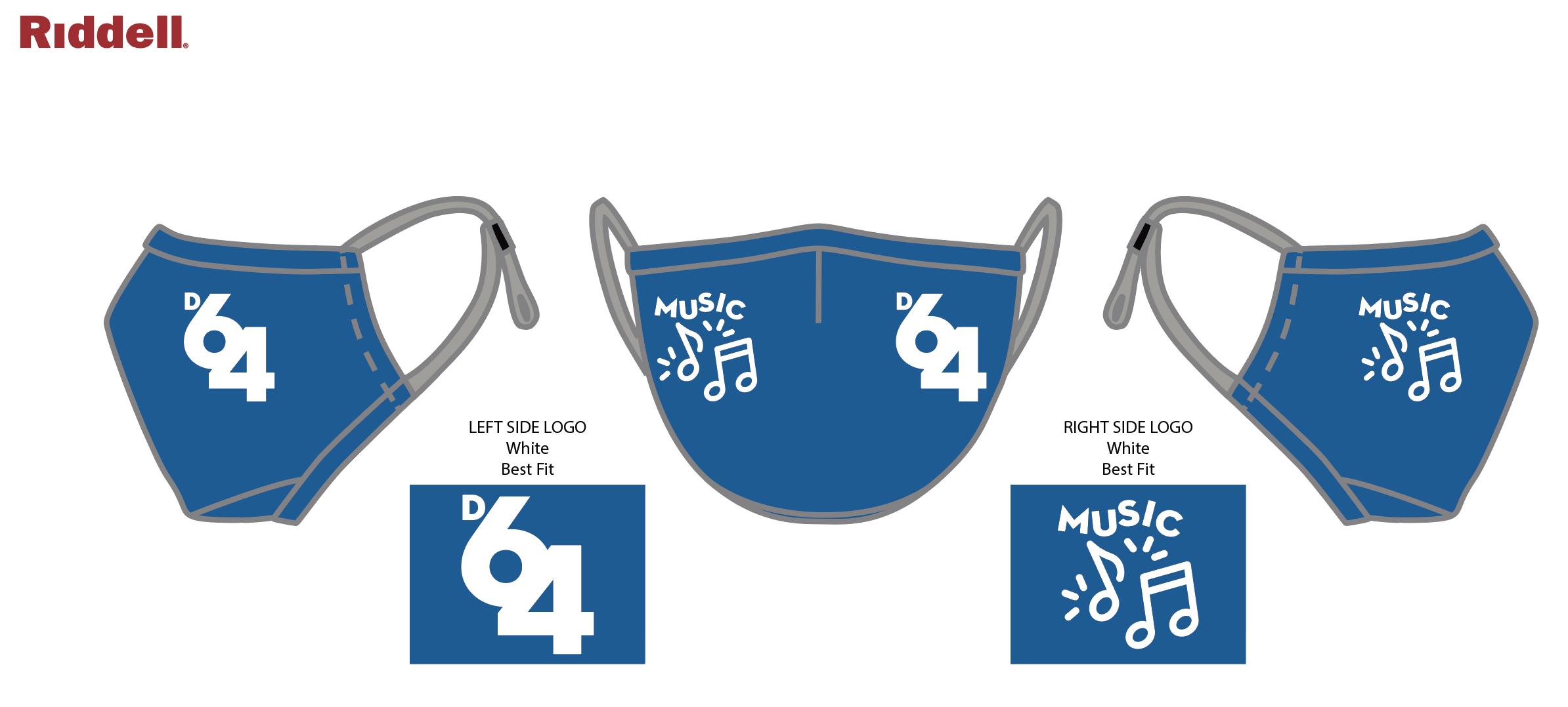 D64 Music Masks